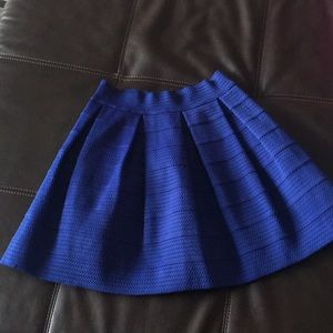 Express blue skirt 💙